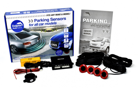 Flush Fitted Parking Sensors With Audio Buzzer