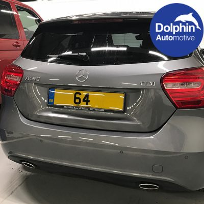 Flush Mount Parking Sensors Fitted To Mercedes A180